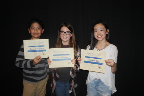 Congratulations to our Spelling Bee Finalists!